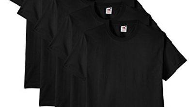 Photo of 30 Meilleur test Tee Shirt Noir en 2021: après avoir recherché des options